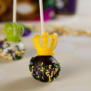Chocolate Cake Pop- 1/2 Dozen- Crown