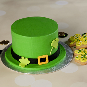 "Leprechaun Hat- 6"" Double Round"