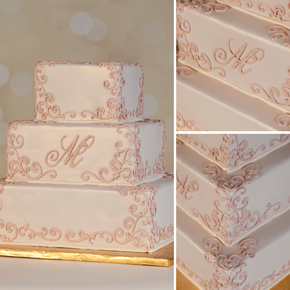 Melania Wedding Cake