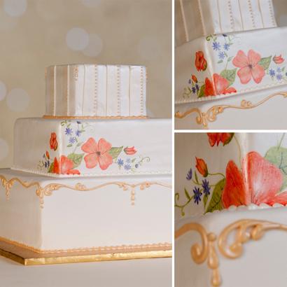 Veronica Wedding Cake