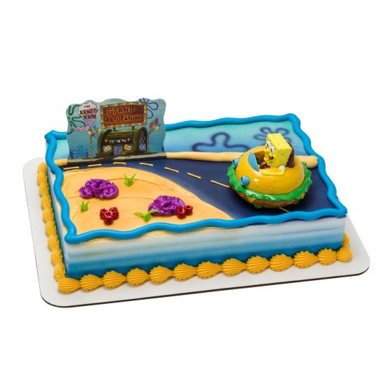 Spongebob Krabby Patty - Half Sheet