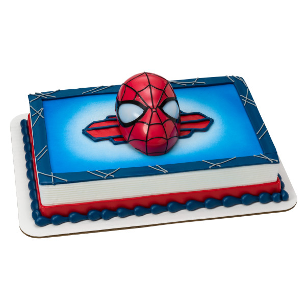 Spiderman Light Up Eyes - Half Sheet