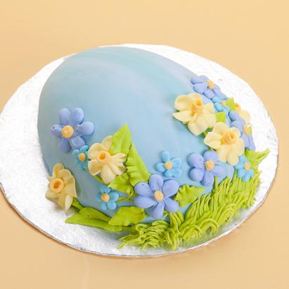 Fields of Flowers- Egg Cake
