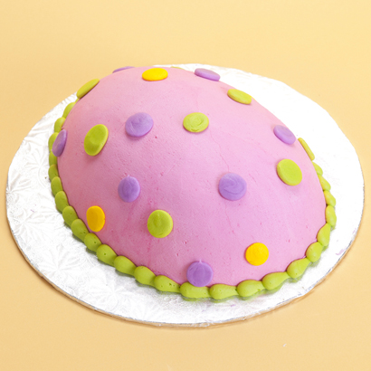 Dotted- Egg Cake