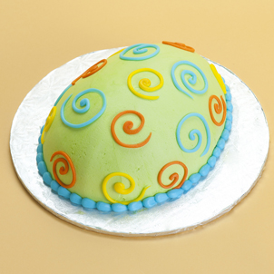 Swirly- Egg Cake