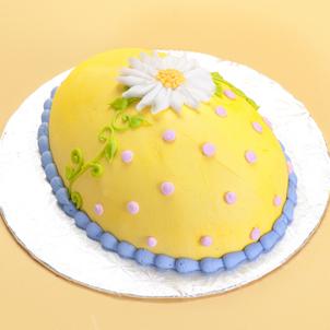 Daisy- Egg Cake