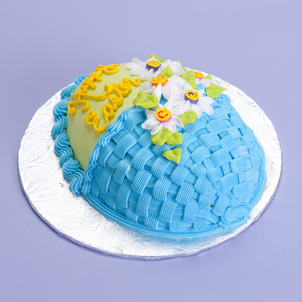 Basket- Egg Cake
