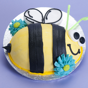 Just Want to Bee- Egg Cake