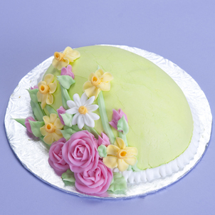 Easter Flowers- Egg Cake