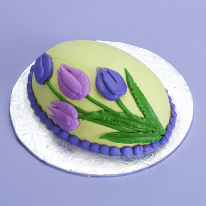 Blooming Tulip- Egg Cake