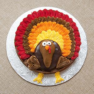 Turkey Cookie Cake- Nov. 23rd and Nov. 27th
