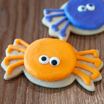 Spider Cut-Out Cookie