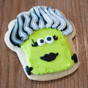 Bride of Frankenstein Cut-Out Cookie