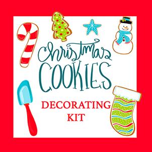 Sugar Cookie Holiday Decorating Kit
