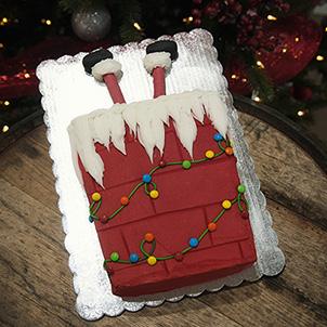 Cake Class: Santa in the Chimney