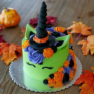 "Uni-Witch Cake- 8"" Double"