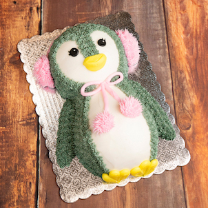 Decorating Class: 2D Penguin Cake- Dec. 2nd