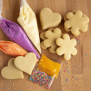 Hearts & Flowers Cookie Kit