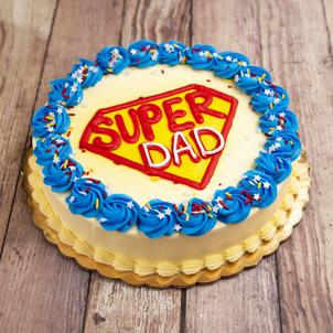 """Super Dad- 6"""" Double Round"""