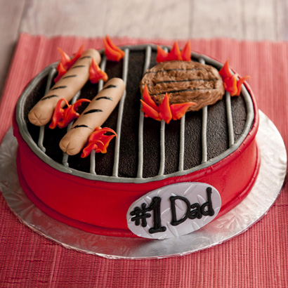 "Grill Cake- 10"" Single Round"