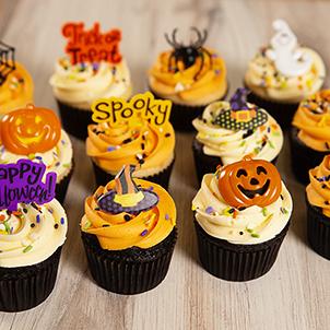 Halloween Cupcake Assortment