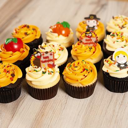 Dozen Cupcakes- Fall Sprinkles