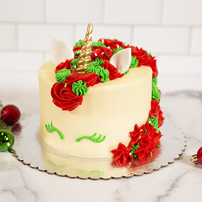 Class: Holiday Unicorn Cake - Dec. 13th