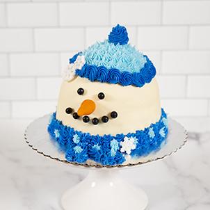 Take & Make: Snowman Cake