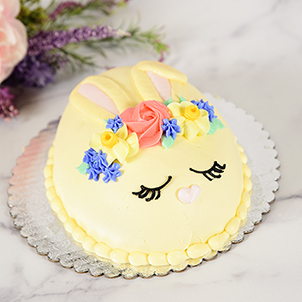 Precious Bunny- Egg Cake