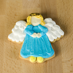 Angel Cut-Out Cookie