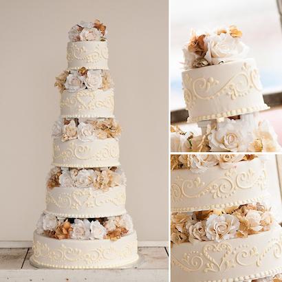 Aurora Wedding Cake