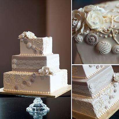 Benjamin Wedding Cake