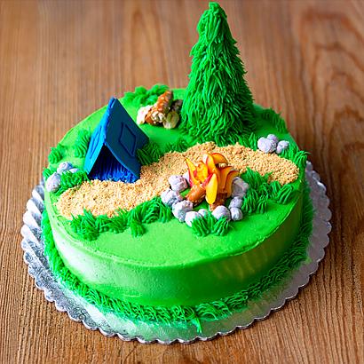 Class- Camping Cake