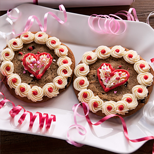 Valentine Cookie Set- Chocolate Chip Hearts