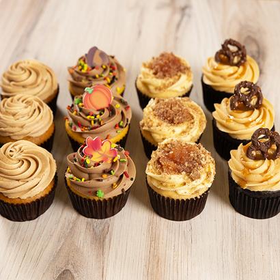 Dozen Cupcakes- Fall Variety Pack