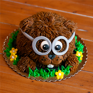 Groundhog Cake- Feb. 1st