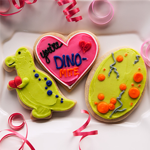 Valentine Cookie Set- You're Dino-Mite