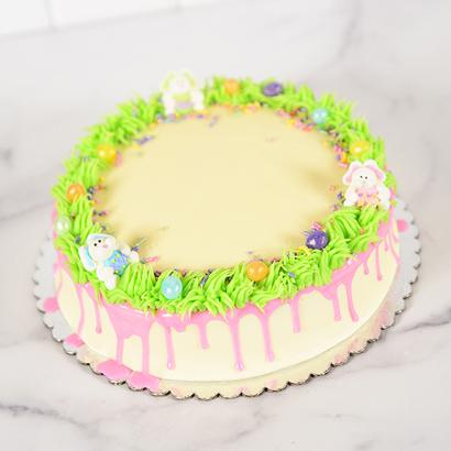 Grass Wreath Cake