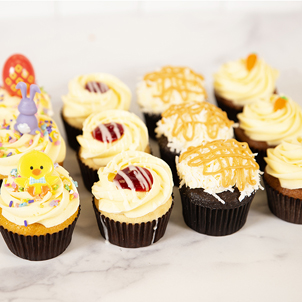 Dozen Cupcakes- Easter Variety Pack