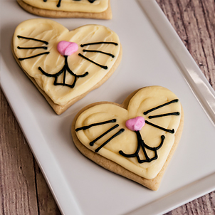Bunny Nose Cut-Out Cookie