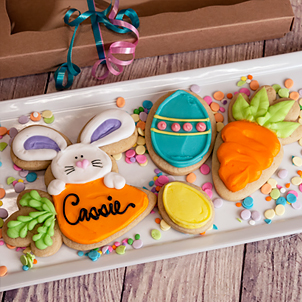 Bunny on Carrot Cookie Set