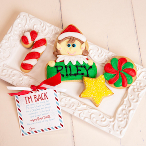 Elf Personalized Cookie Set