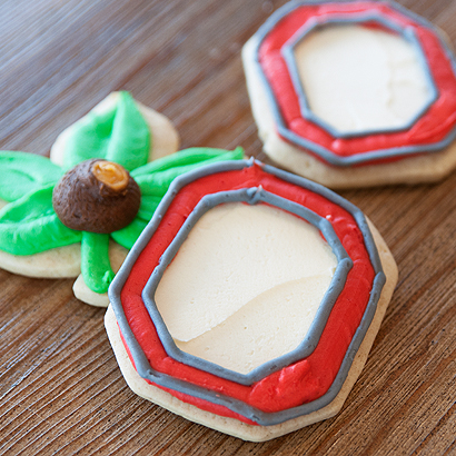 Block O Cut-Out Cookie