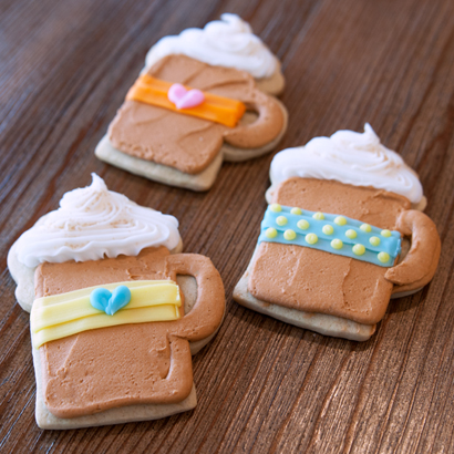 Coffee Cut-Out Cookie