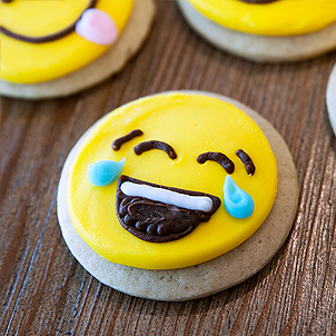 Emoji Cut-Out Cookie
