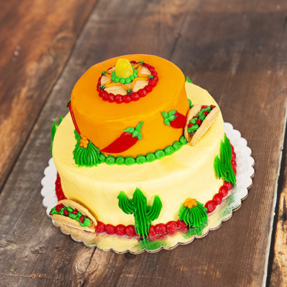 Decorating Class: Fiesta Sweet Stack- Aug 29th