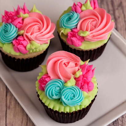 Spring Paradise Cupcake Collection