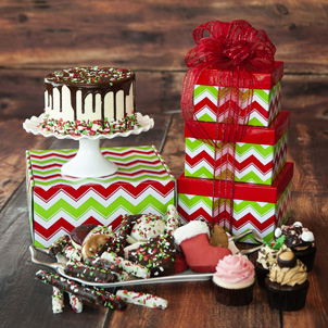 Holiday Gift Tower #4