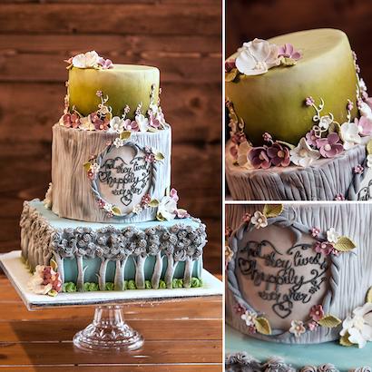 Glenn Wedding Cake