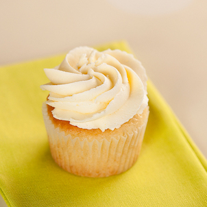Gluten-Free Yellow Cupcake with Buttercream
